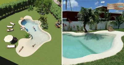 You Can Bring The Beach To Your Backyard With These Amazing 'Sand Pools'