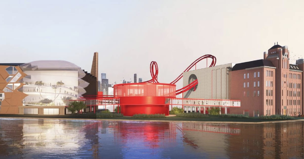 Tony's Chocolonely Unveils First Design For Its Roller Coaster Willy Wonka-style Factory