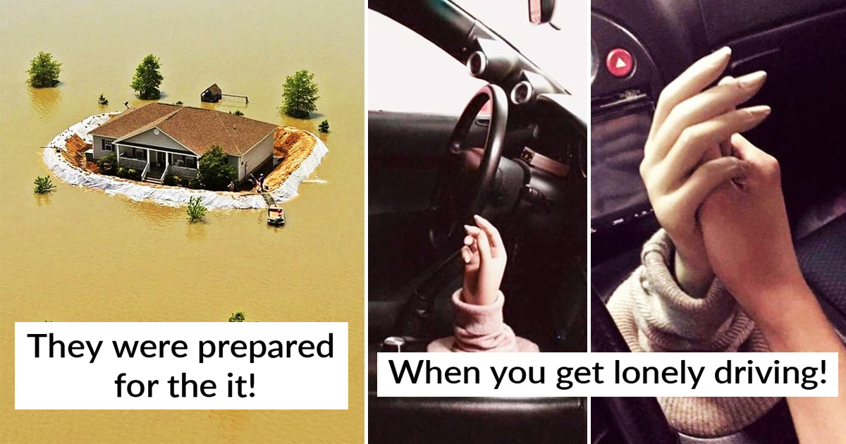 23 People Who Solved Their Everyday Problems In The Most Unusual Way