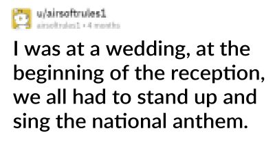 20 People Share Cringey Things That Happened At A Wedding They Attended