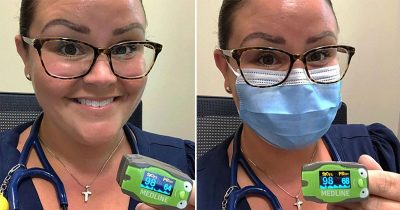 Doctor Wears Different Face Masks To Show How It Affects Our Heart Beat And Oxygen Levels