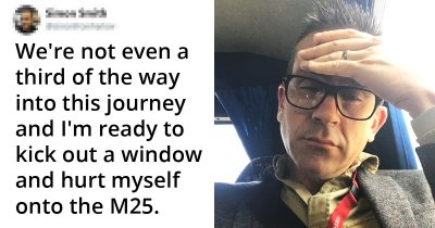 Dad Went On A School Trip With 60 Kids And Live-Tweeted The Horror, Its Hilarious
