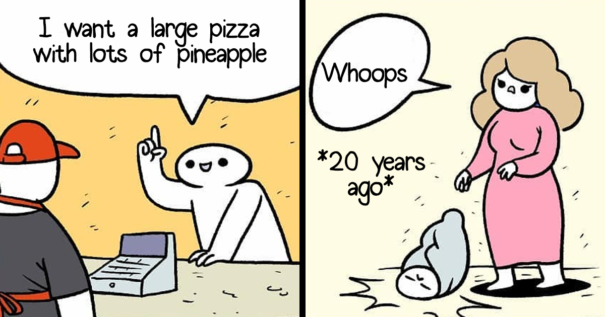 30 Hilarious Comics Only People With A Dark Sense Of Humor Will Appreciate