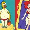 Artist Reimagines Famous Characters On Their First Day At The Beach