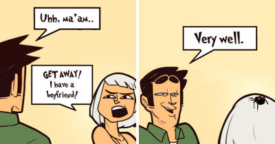 Artist Draws 30 Hilarious Comics On Socially Awkward Situations