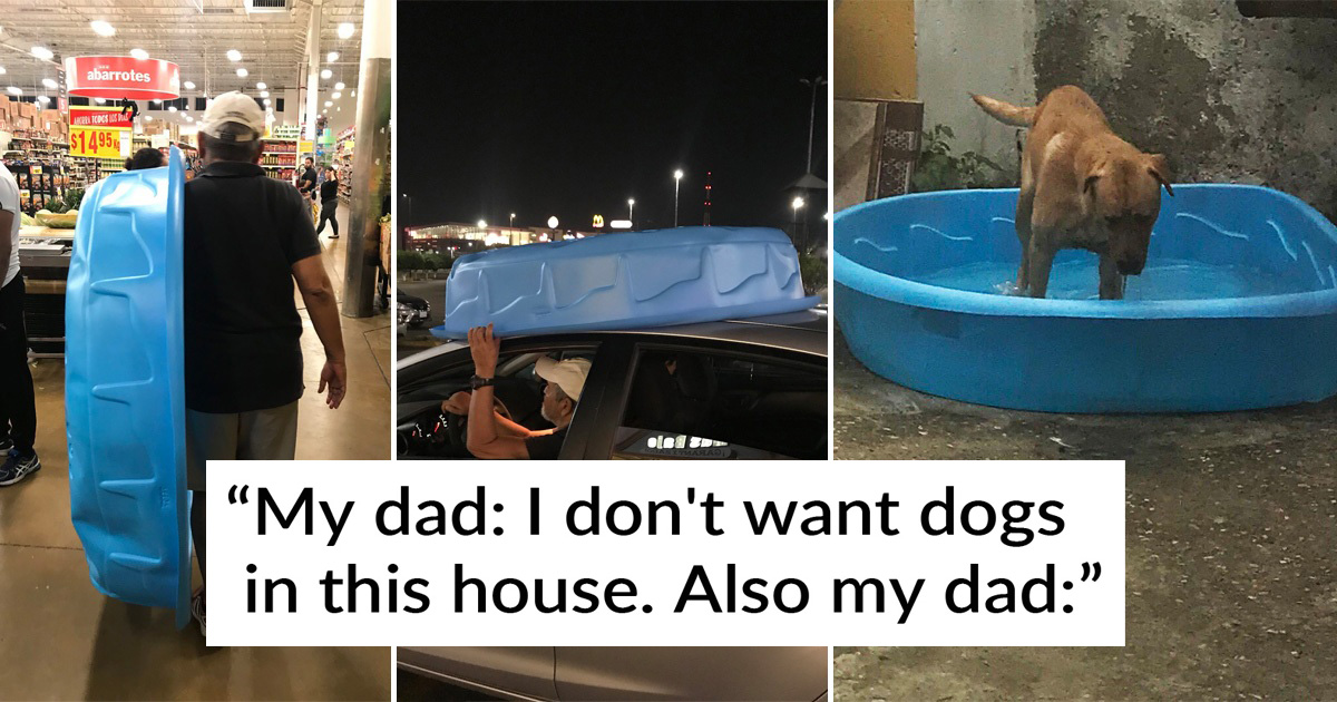 30 Dads Who Didn't Want to Have Pets but Then Couldn't Live Without Them
