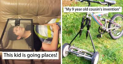 30 Kids Who Ruled The House With Their Creative Inventions