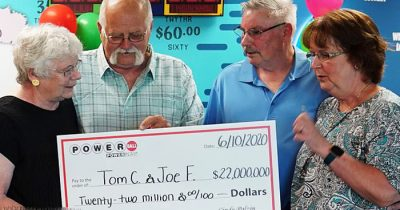 Man Splits His $22 Million Lottery Jackpot With Friend As They Made A Handshake Deal 30 Years Ago