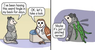 16 Hilarious Comics On The Struggle Of Animal Parents Living In Today's World