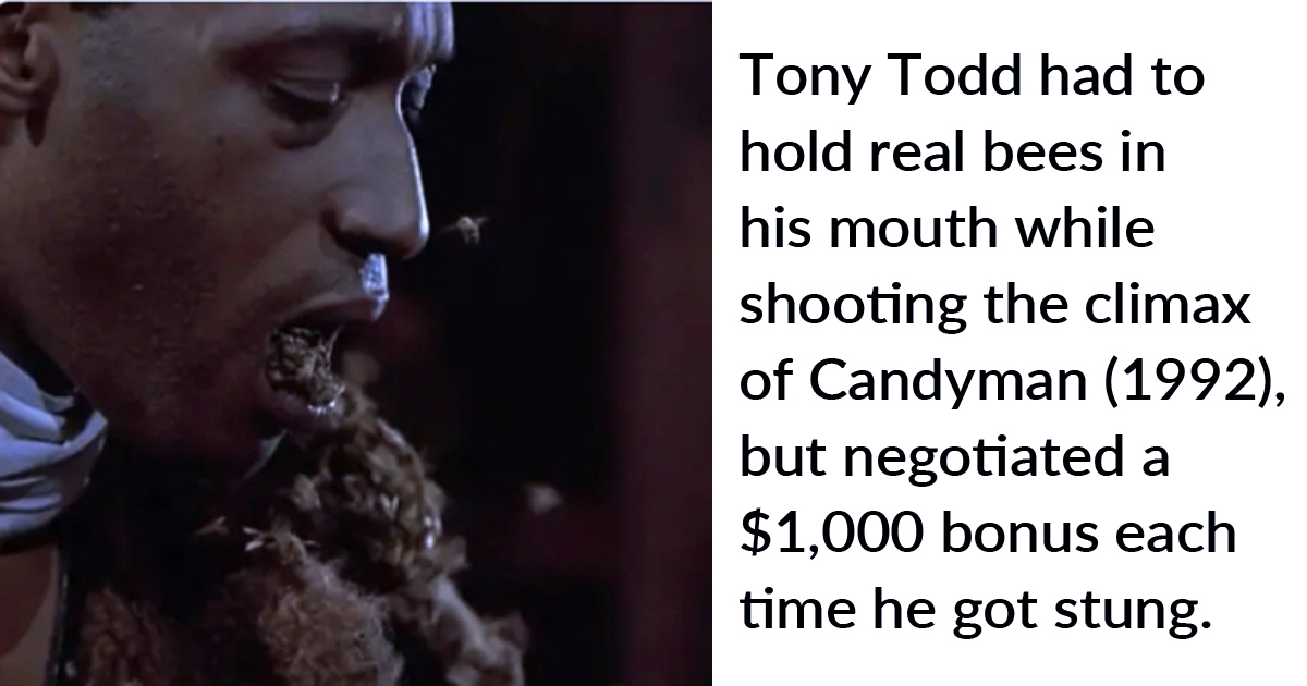 13 Behind-The-Scenes Fun Facts About Horror Movies You Probably Never Knew