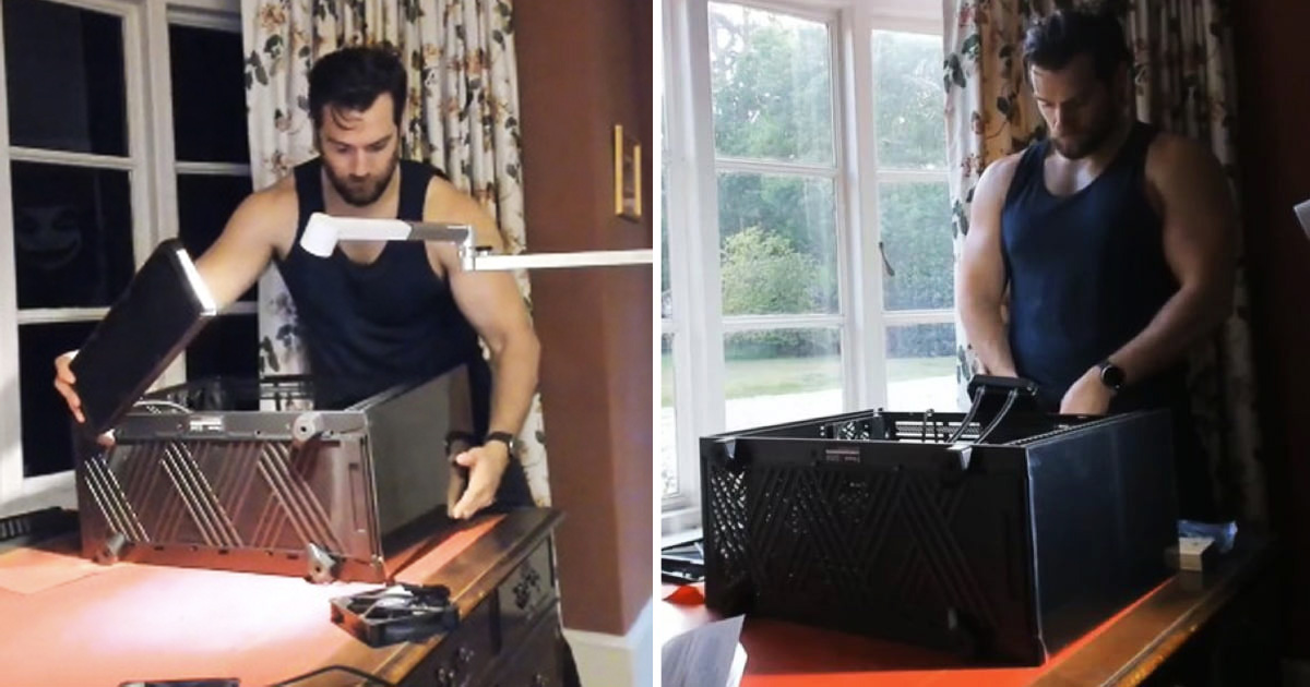 Henry Cavill Took the Internet By Storm Building A Gaming PC