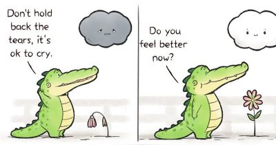 Artist's 20 Hilarious Comics That Will Change Your Perspective On Alligators