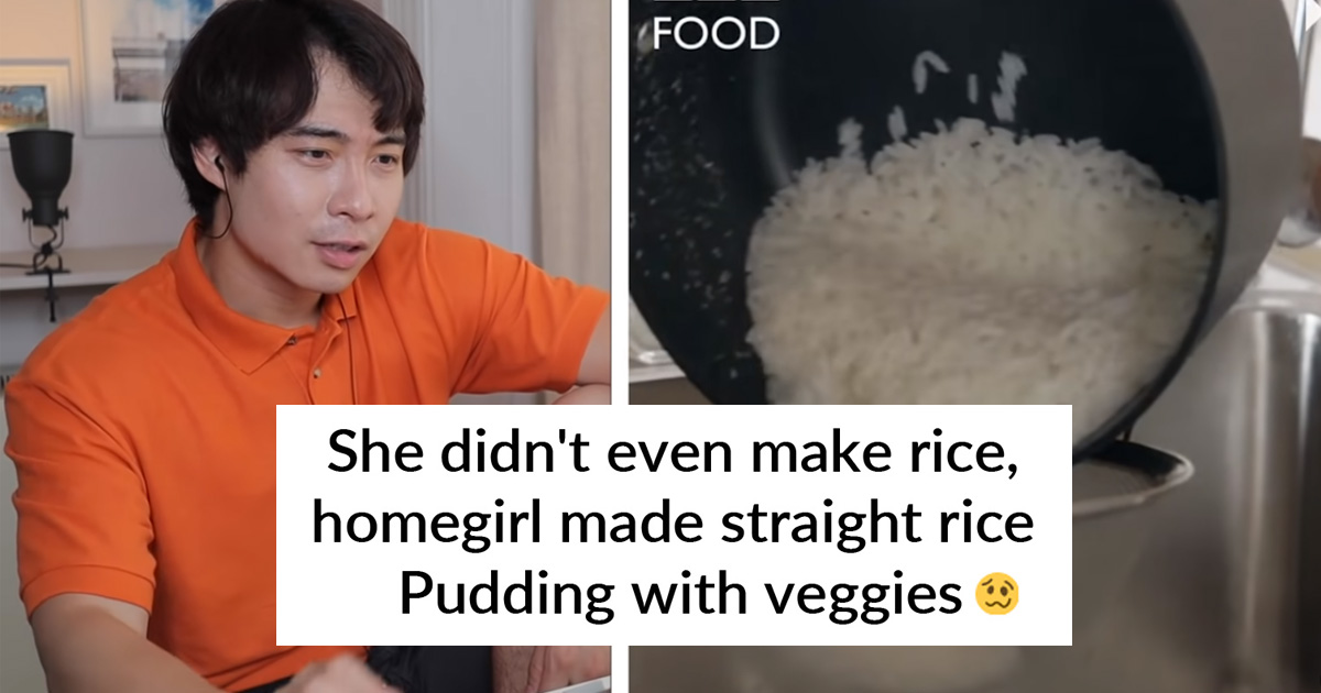 People Are Triggered By BBC Food's Way Of Cooking Rice For Egg Fried Rice