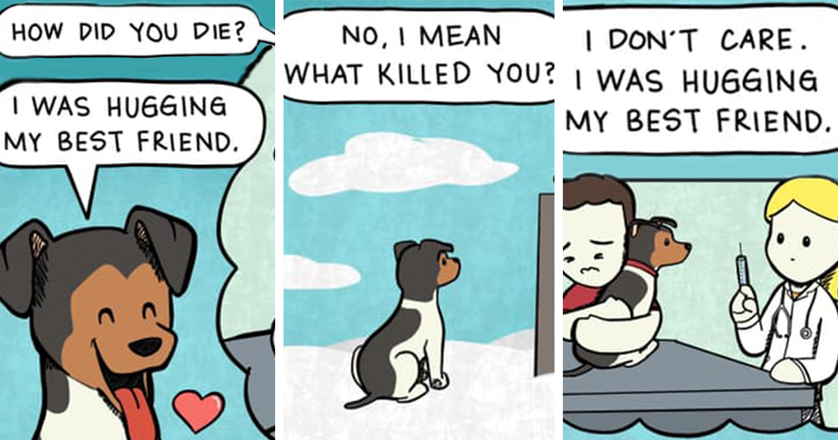 Artists' 13 Comics About Their Dog That Every Dog Owner Can Relate To