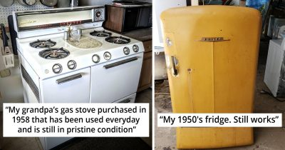 25 People Share Pics Of Oldest Home Appliances They're Still Using