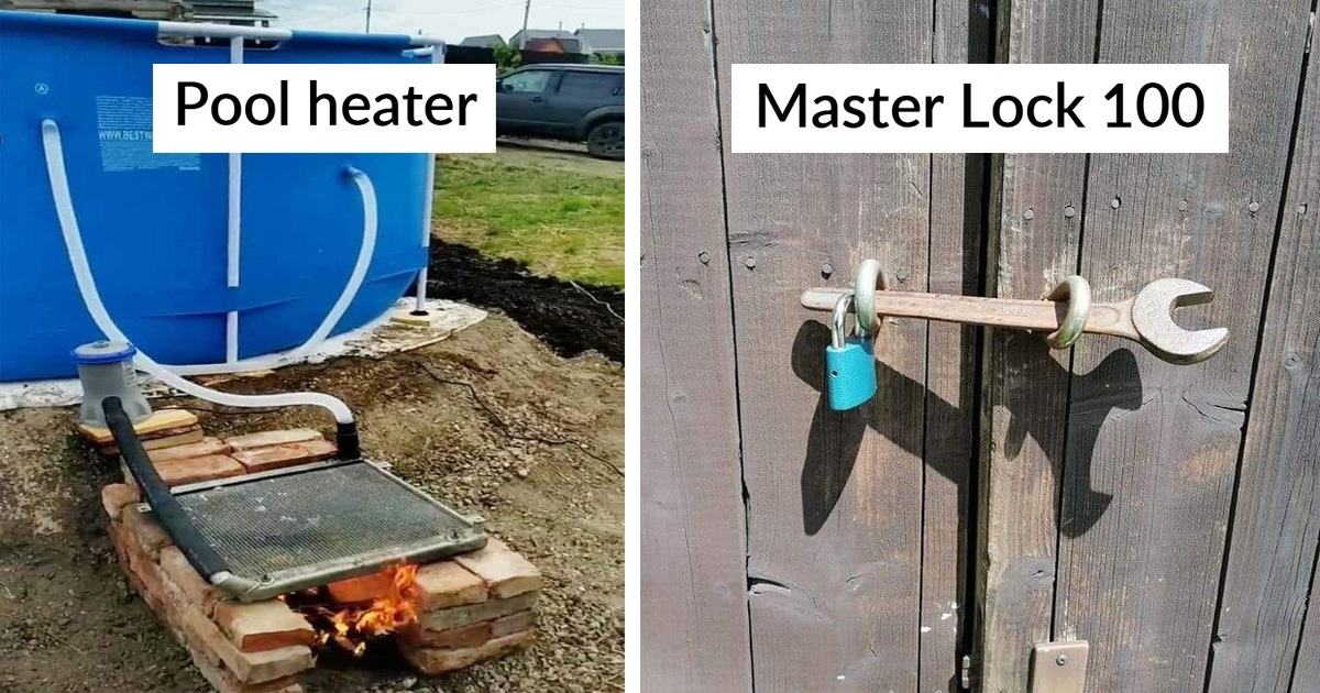 24 Engineering That May Look Crazy And Stupid But Actually Works