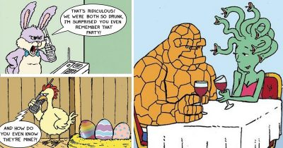 30 Hilarious Comics With Unexpected Twists By Sunny Street