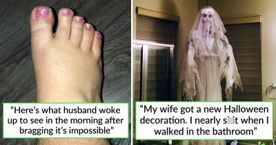 28 Times Wives Hilariously Made Their Marriages Less Boring