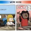 8 Funny Comics That Draw Difference Between Working From Home Vs Office