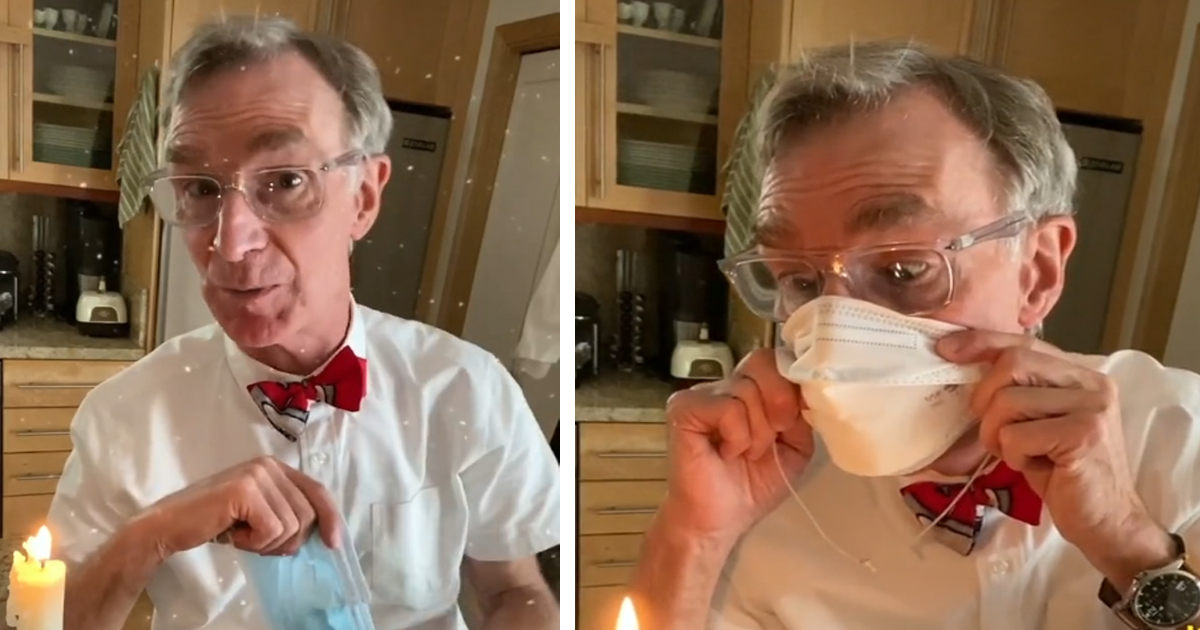 Bill Nye Explains Why People Should Wear A Mask, And It Goes Viral