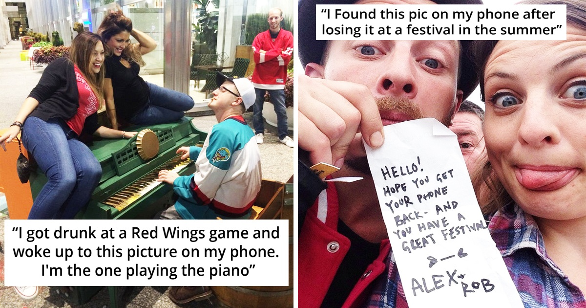 30 Hilarious Times People Found Pictures They Never Took On Their Phone