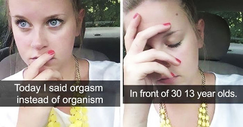 30 Hilarious Teacher Fails That Show They Are Humans Just Like Us