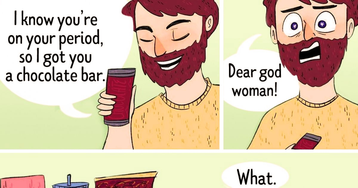 Artist Honestly Draws Daily Life Situations Of Being A Girl In 20 Funny Comics