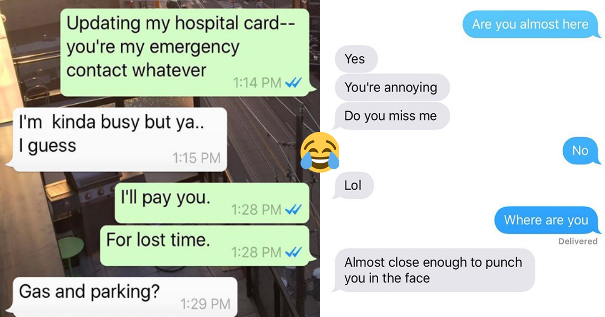 19 Sisters' Texts That Hilariously Sum Up The Sibling Relationship
