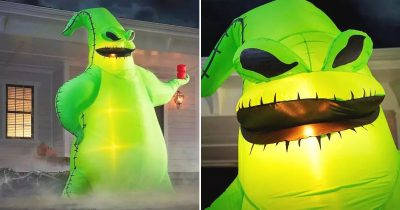 Home Depot Is Selling A 10.5ft Disney Oogie Boogie Inflatable For Halloween