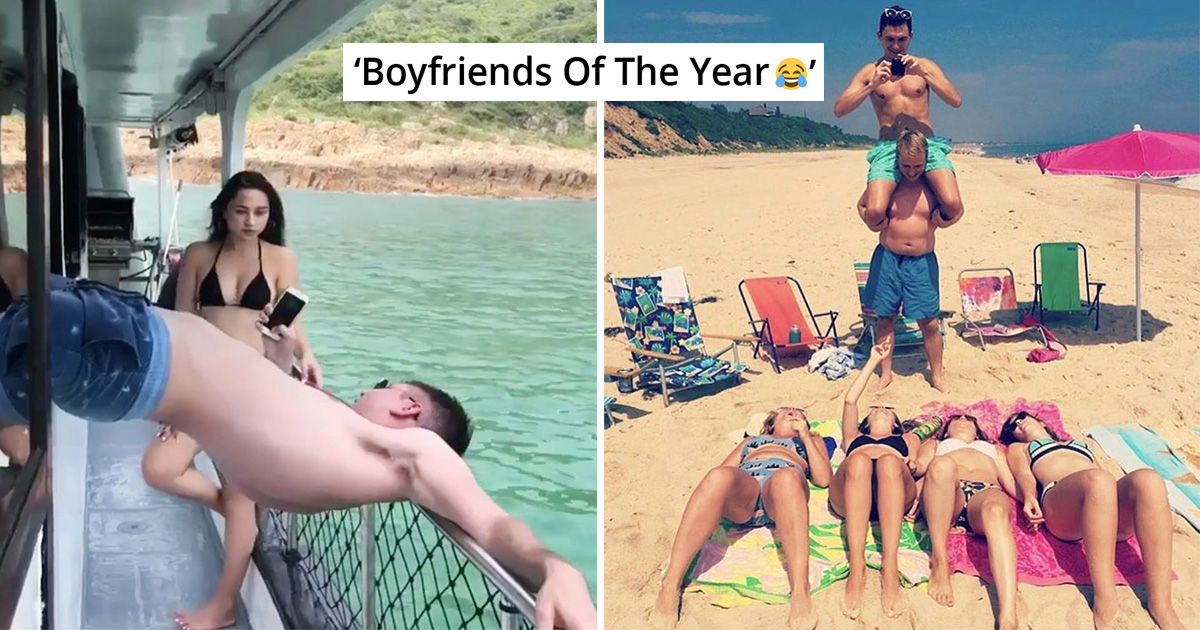 21 Instagram Boyfriends Who Can Go To Any Length For Their Girlfriends' Perfect Shot
