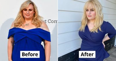 Rebel Wilson Stunned Fans As She Flaunts Her Slimmed Down Figure In A Tight Blue Dress