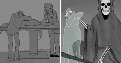 Artist Is Back With Tear-Jerking Comic And This Time It's About Euthanasia