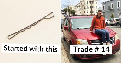 Woman Started Trading Project With A Bobby Pin Until She Gets A House