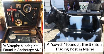 20 Extraordinary Finds People Made At Thrift Stores