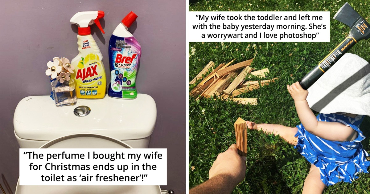 25 Hilarious Pics Of Marriage Wars Where No One Wants To Give Up