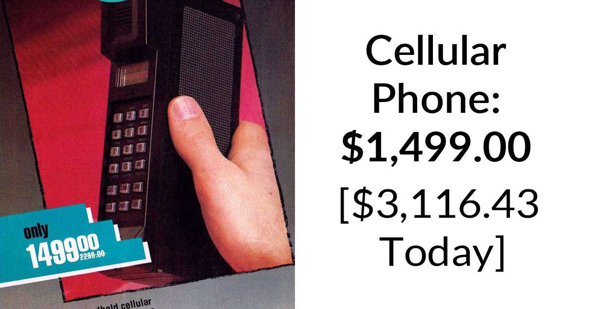 30 Funny Ads For Vintage Technology That Look Way Overpriced