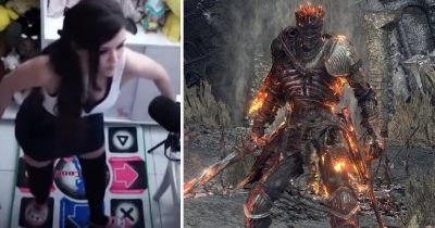 Level 1 Gamer Uses A Dance Pad To Defeat Final Boss Of Dark Souls 3