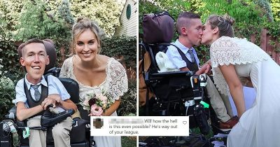 Woman Gets Trolled For Marrying Disabled Man, She Hits Them Back