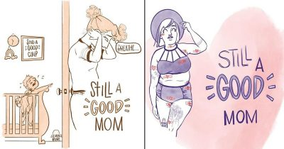 30 Beautiful 'Still A Good Mom' Comics That Tell Moms It's Okay To Be Themselves