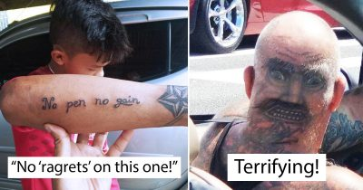 22 People With Hilarious Tattoo Fails That Make Everyone Laughed