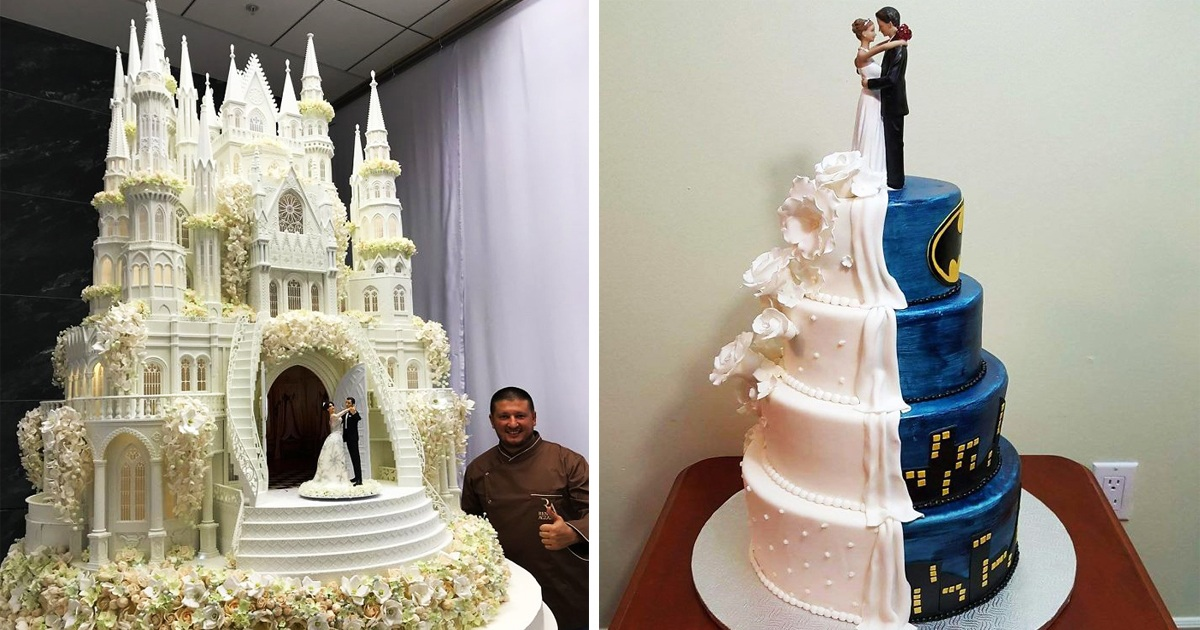 20 Most Creative Wedding Cakes People Shared On The Internet