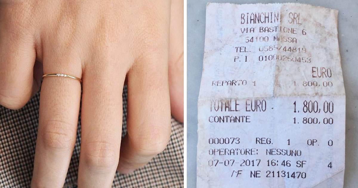 Woman Shames Fiancé Online After Finding Her 'Small' Engagement Ring's Receipt