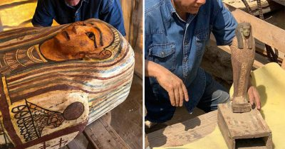 27 Ancient Coffins Unearthed Buried For 2,500 Years In Egypt Could Be Largest Discovery Ever