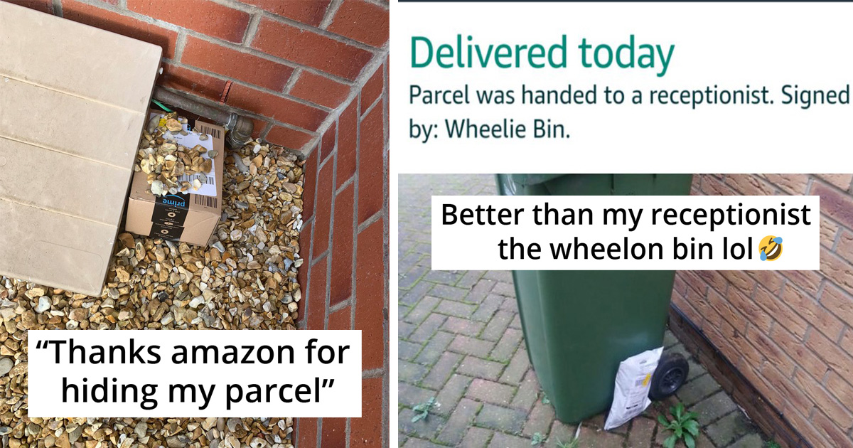 20 People Share Hilarious Ways Deliverymen Tried To 'Hide' Their Packages