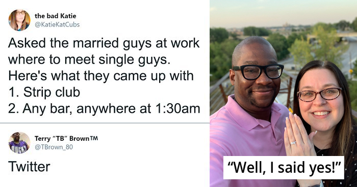 Woman Asked 'Where To Meet Single Guys' Ended Up Engaging The Guy Who Suggested Twitter