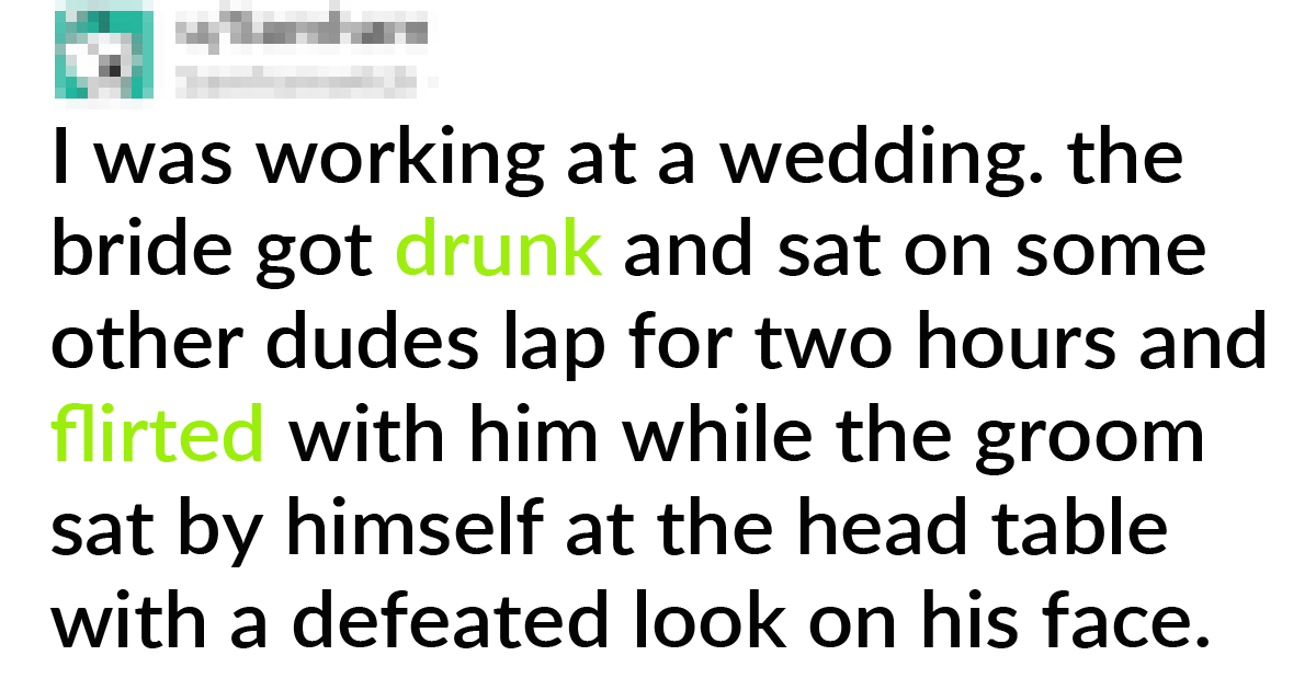 17 Cringiest Things Brides And Grooms Did In Their Wedding
