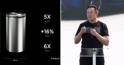 Elon Musk Announces Six Times More Powerful Battery For Tesla's Electric Cars