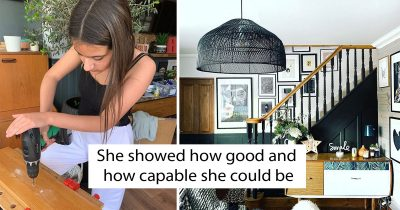 This 12-Year-Old Led Her Own Family Home Redecorates For Merely $125