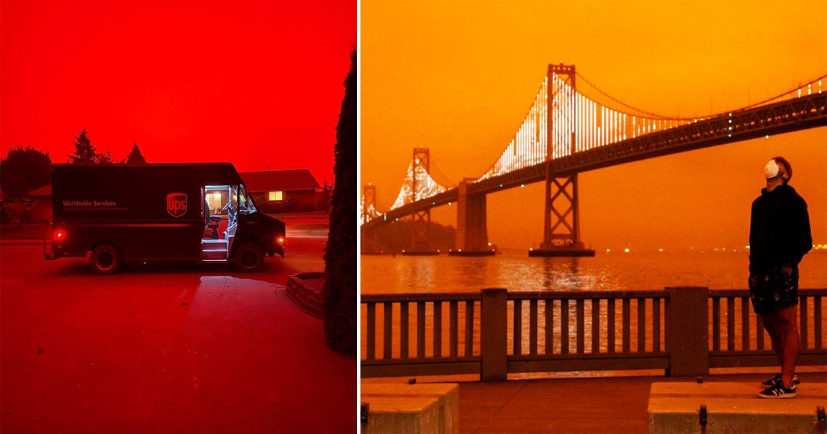 30 People Share Pics From The West Coast And The Scenes Are Apocalyptic