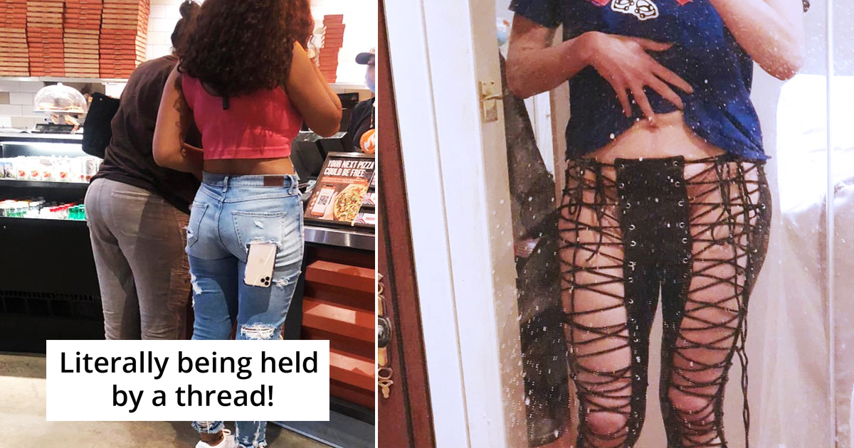 30 Hilarious Fashion Fails People Have Ever Encountered